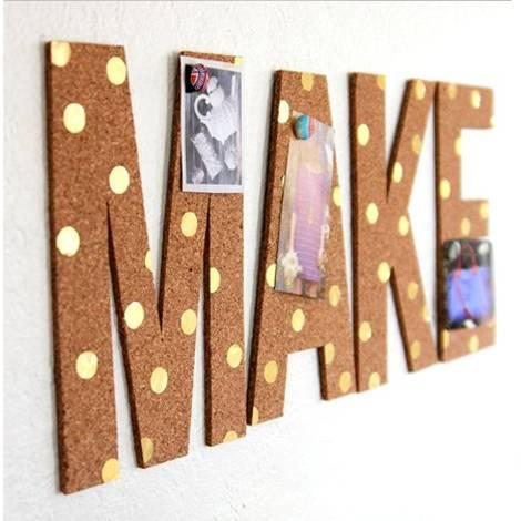 ideas decorar corcho pared